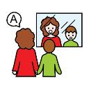 logo estimulacion y logopedia 128x128